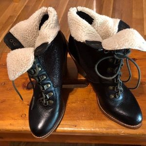 Sam Edelman high-heeled boots. EUC.